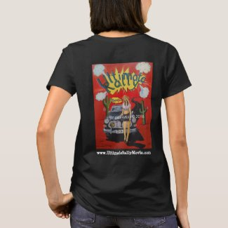 The Ultimate Rally movie Pop Art Jeep Volvo shirt