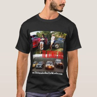 The Ultimate Rally movie race cars shirt 2