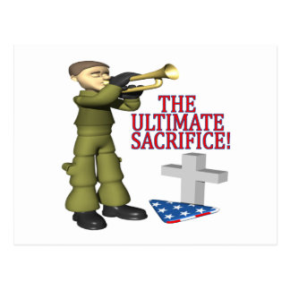 The Ultimate Sacrifice Postcard