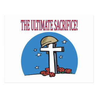 The Ultimate Sacrifice Postcard