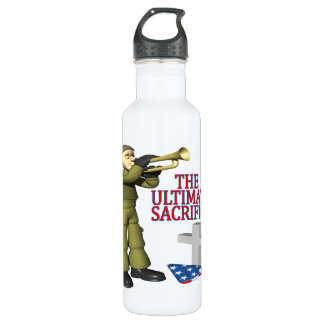 The Ultimate Sacrifice Stainless Steel Water Bottle