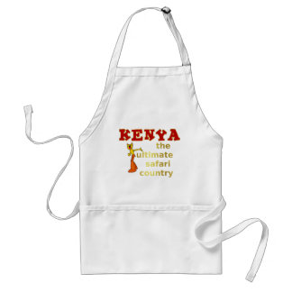 The Ultimate Safari Country Adult Apron