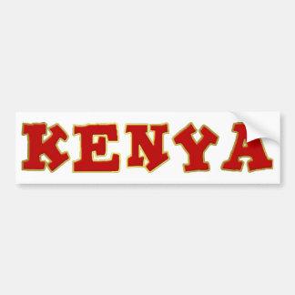 The Ultimate Safari Country Bumper Sticker