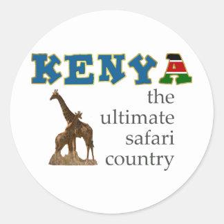 The Ultimate Safari Country Classic Round Sticker