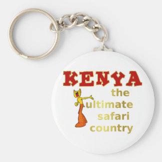 The Ultimate Safari Country Key Chain