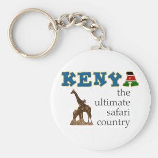 The Ultimate Safari Country Keychain