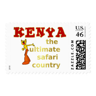 The Ultimate Safari Country Postage Stamp