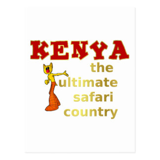 The Ultimate Safari Country Postcard