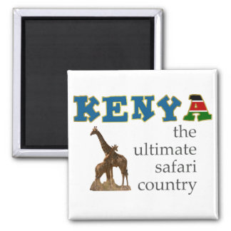 The Ultimate Safari Country Refrigerator Magnet