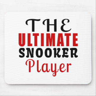 THE ULTIMATE SNOOKER FIGHTER MOUSE PAD
