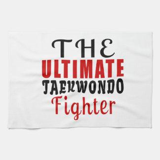 THE ULTIMATE TAEKWONDO FIGHTER KITCHEN TOWEL