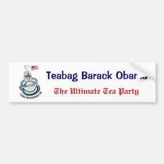 The Ultimate Tea Party Bumper Sticker Car Bumper Sticker