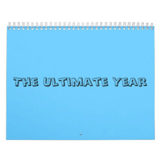 The Ultimate Year Calendar