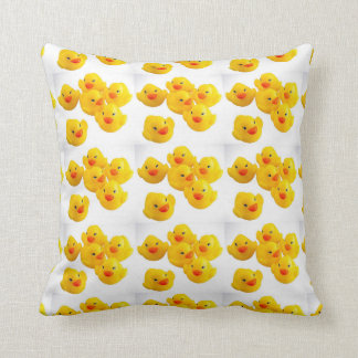 """THE """"ULTIMATE YELLOW RUBBER DUCKY"""" THROW PILLOW"""