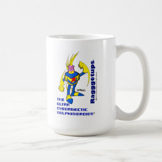 The Ultra Cybernectic Dolphindroids Coffee Mug