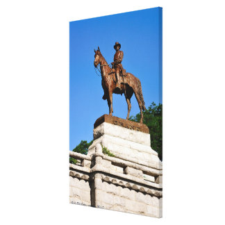 The Ulysses S. Grant statue atop the Grant Canvas Print
