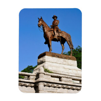 The Ulysses S. Grant statue atop the Grant Rectangular Photo Magnet