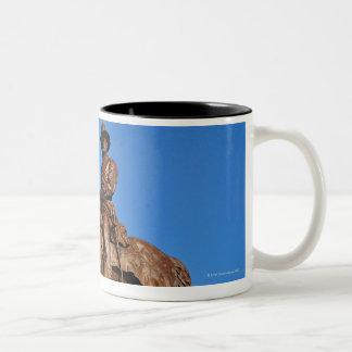 The Ulysses S. Grant statue atop the Grant Two-Tone Coffee Mug