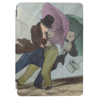 The Umbrella Trip, from 'Flibustiers Parisiens' iPad Air Cover
