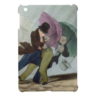 The Umbrella Trip, from 'Flibustiers Parisiens' iPad Mini Case