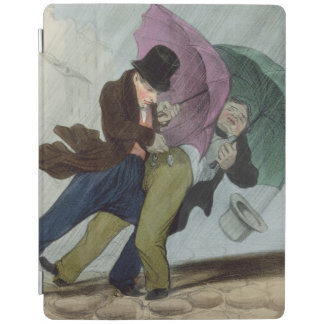 The Umbrella Trip, from 'Flibustiers Parisiens' iPad Smart Cover