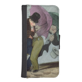 The Umbrella Trip, from 'Flibustiers Parisiens' iPhone SE/5/5s Wallet Case