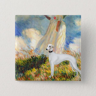 The Umbrella - Whippet 11B Pinback Button