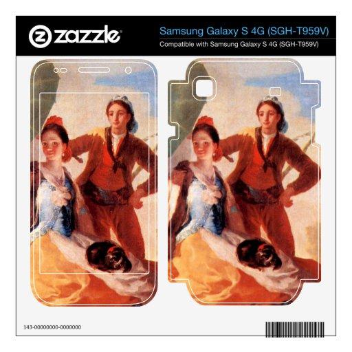 The Umbrellas by Francisco de Goya Samsung Galaxy S 4G Decal