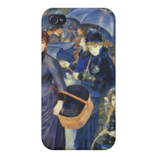 The umbrellas by Pierre Renoir Cover For iPhone 4