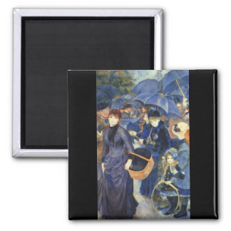 The umbrellas by Pierre Renoir Refrigerator Magnets