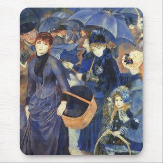 The umbrellas by Pierre Renoir Mouse Pad