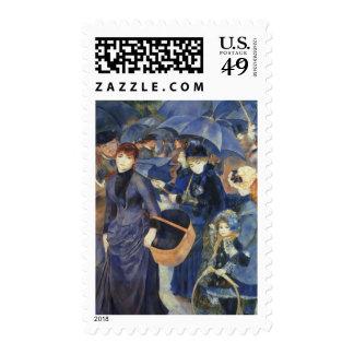 The Umbrellas Stamps