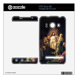 The unbelieving Thomas by Rembrandt Decals For HTC Evo 4G