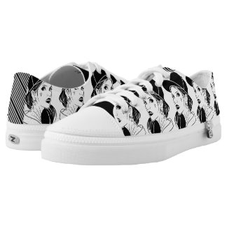 The Unconventional Girl Low-Top Sneakers