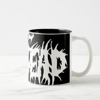 "The Undead ""15 oz Two-Tone Mug"" Two-Tone Coffee Mug"