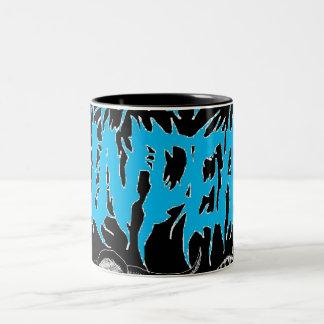 "The Undead(Blue) ""Mug"" Two-Tone Coffee Mug"