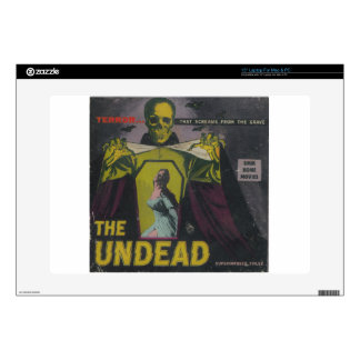 "The Undead Zombie Movie Decals For 15"" Laptops"