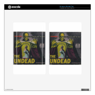 The Undead Zombie Movie Kindle Fire Decal