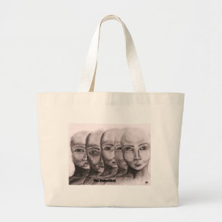 The undecided with captions tote bag