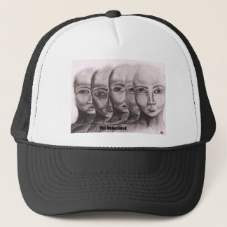 The undecided(with captions) trucker hat