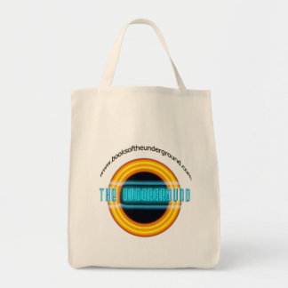The UNDERGROUND grocery tote bag