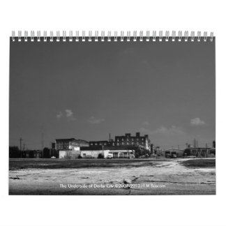 The Underside of Derby City Calendar