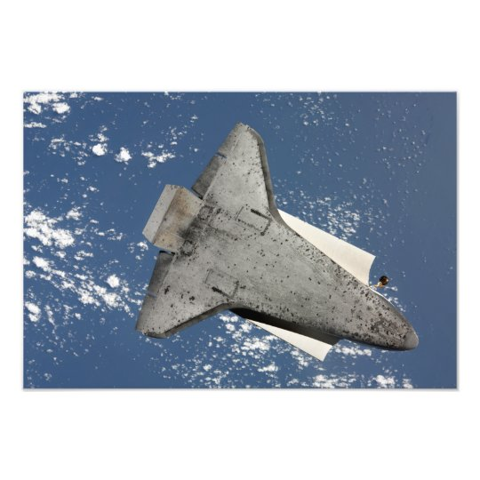 The underside of space shuttle Discovery 2 Photo Print