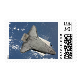 The underside of space shuttle Discovery 2 Postage
