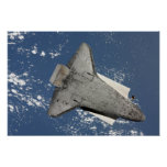 The underside of space shuttle Discovery 2 Poster