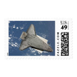 The underside of space shuttle Discovery 2 Stamp