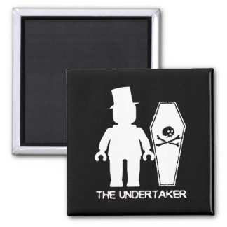 The Undertaker by Customise My Minifig Magnet