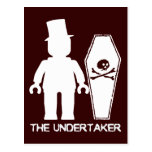 The Undertaker by Customise My Minifig Post Card