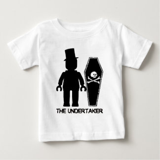 The Undertaker Minifig by Customize My Minifig Baby T-Shirt