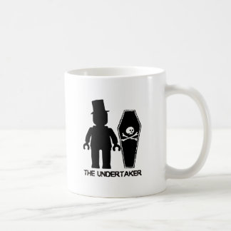 The Undertaker Minifig by Customize My Minifig Coffee Mug